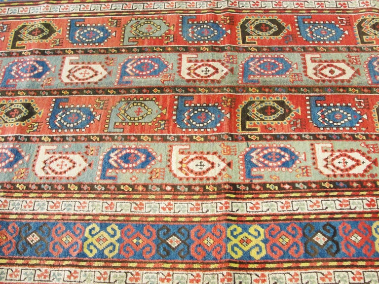 Kazak Antique Caucasian Rug 5
