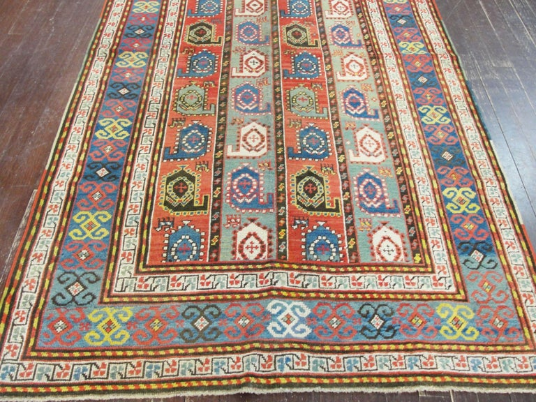 Kazak Antique Caucasian Rug 6