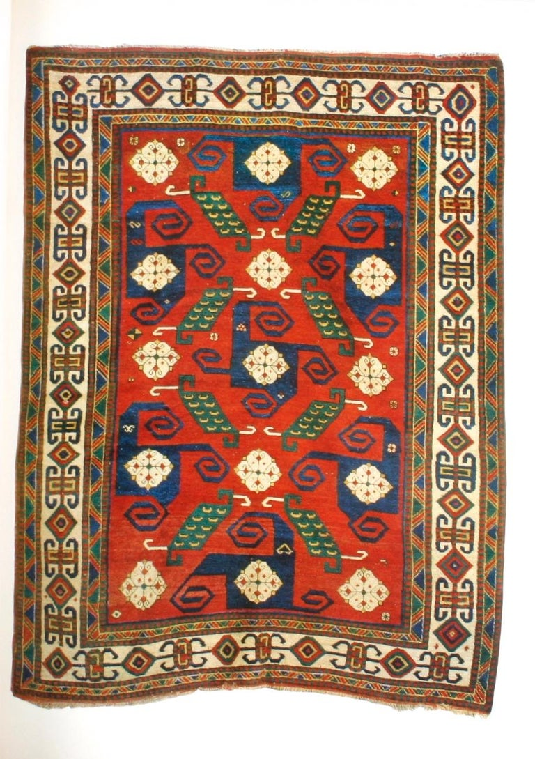 Kazak Carpets of the Caucasus by Raoul Tschebull In Good Condition For Sale In Kinderhook, NY