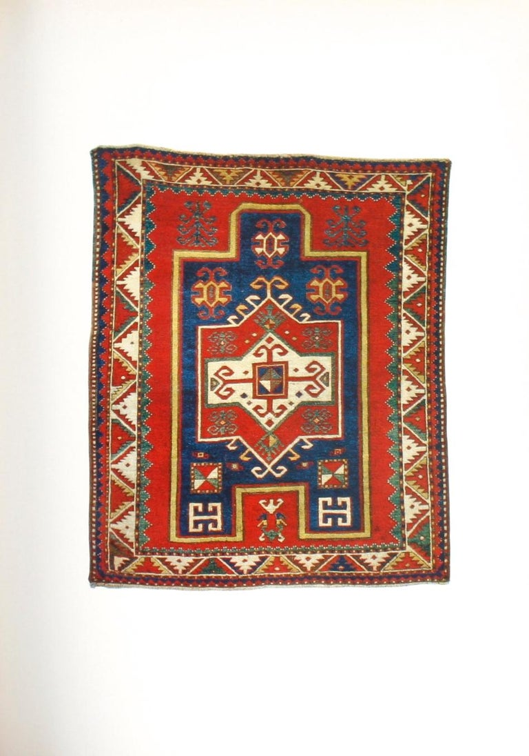Paper Kazak Carpets of the Caucasus by Raoul Tschebull For Sale