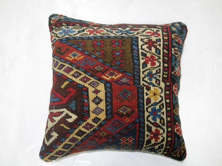 Tribal Kazak Pillow For Sale