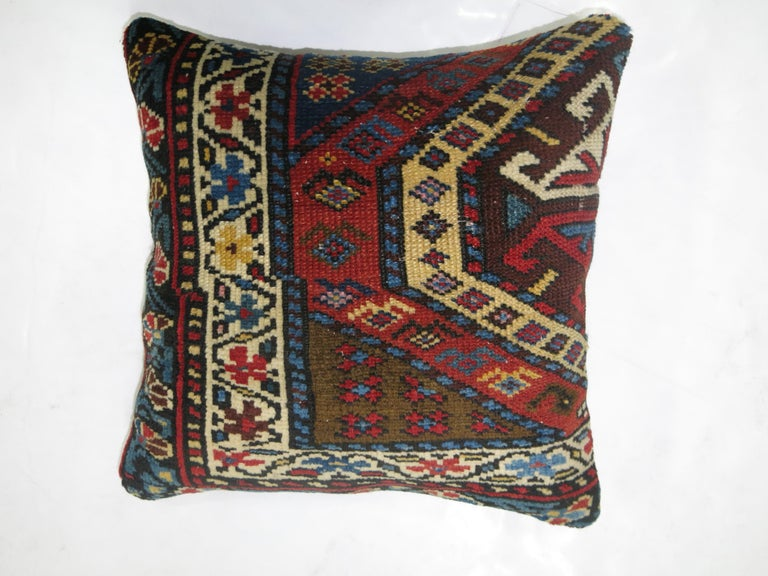 Kazak Pillow In Excellent Condition For Sale In New York, NY