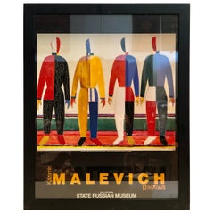 kazimir Malevich Exhibition Poster State Russian Museum