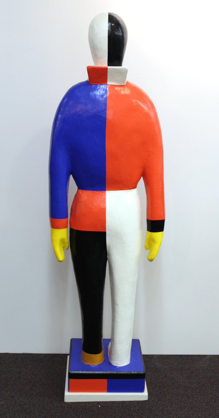 Kazimir Malevich 'Sportsmen' Statue In Good Condition For Sale In New York, NY