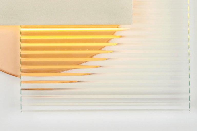 American Kazimir Sconce in Satin Nickel by Ladies and Gentlemen Studio For Sale