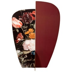 Kazimir Screen by Colé, Floral Pattern Type C, Decor Divider Inspired to Art