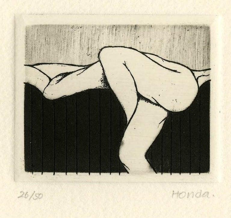 Kazuhisa Honda Nude Print - Love - II