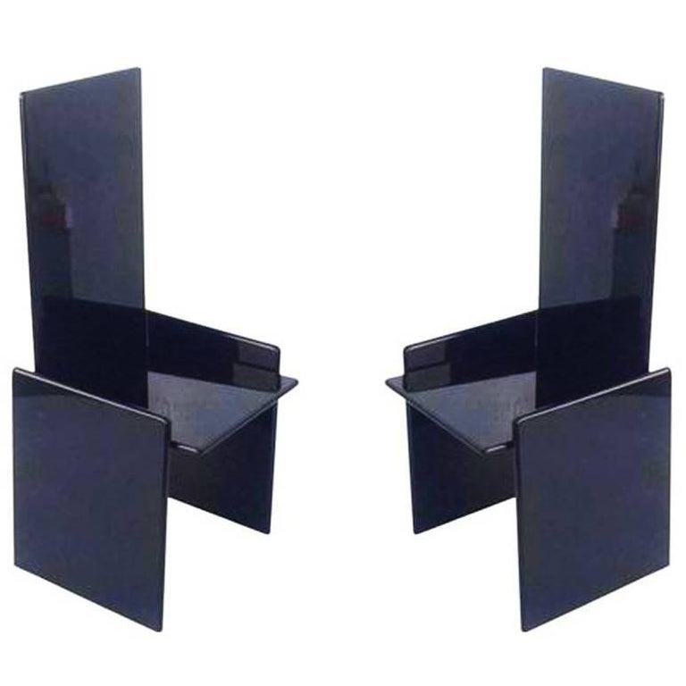 """""""Kazuki"""" Kazuhide Takahama by Simon Gavina 1960s Design Pair of Chairs"""