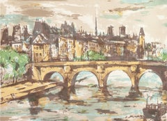 'The Pont Neuf with Notre Dame in the Distance', Tokyo Fine Arts Academy