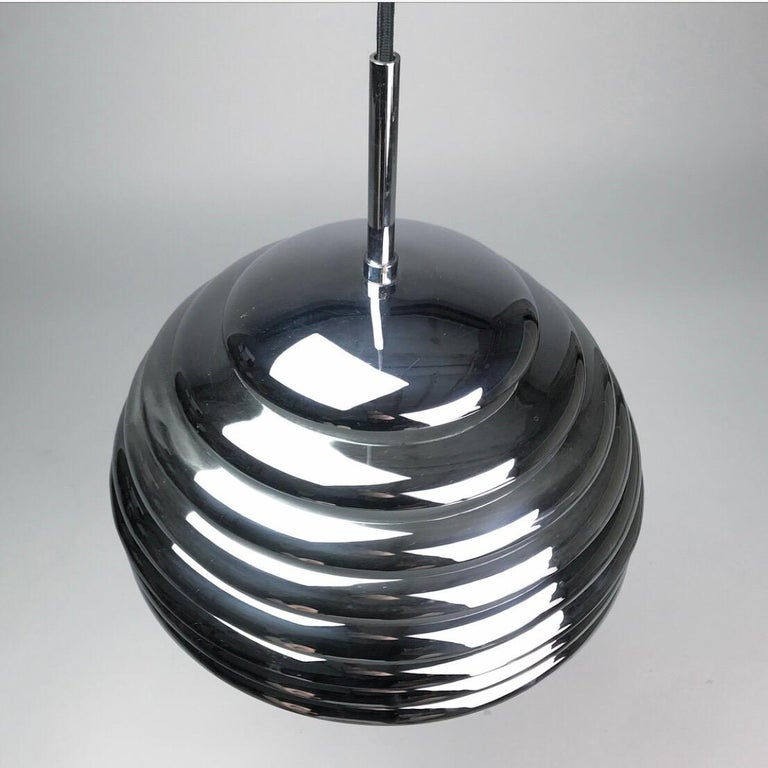Kazuo Motozawa Ceiling Pendant Saturno by Staff Leuchten, Germany, 1970s In Good Condition For Sale In Haderslev, DK