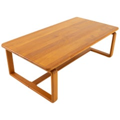 KD Furniture Midcentury Teak Coffee Table