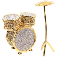 Keep the Beat with This Drum Set Made by Shimon's Creations