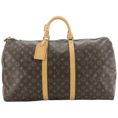 Keepall Bag Monogram Canvas 55