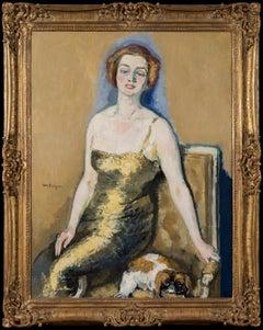 Portrait de Madame Van Der Velde by KEES VAN DONGEN - Modern art, portrait, '20s