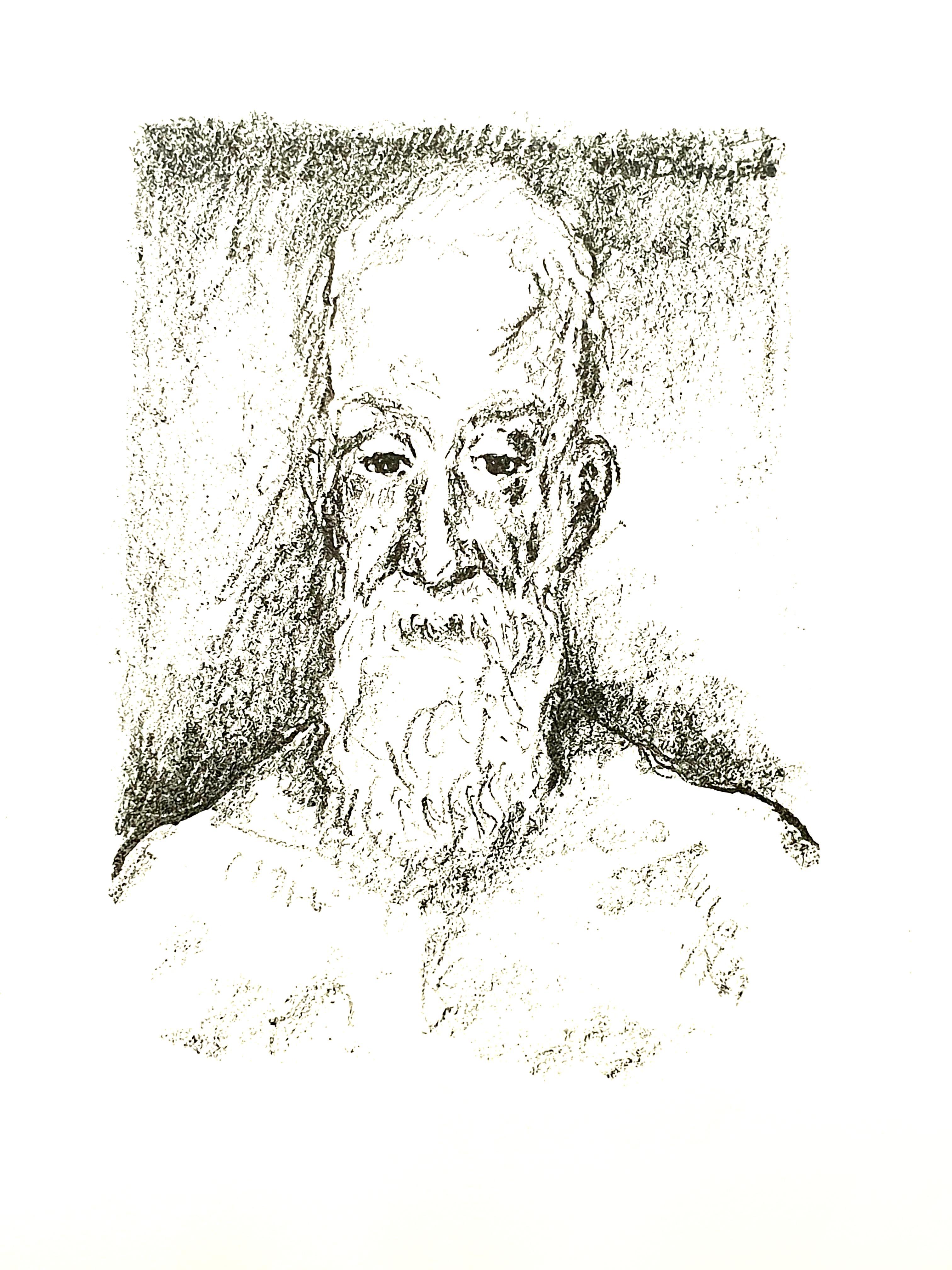 Kees van Dongen - Portrait - Original Lithograph