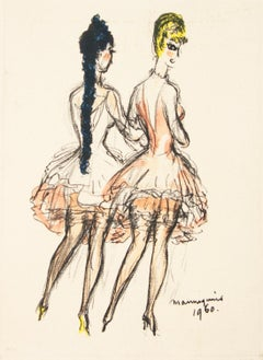 Mannequins 1960 Lithograph by Kees Van Dongen