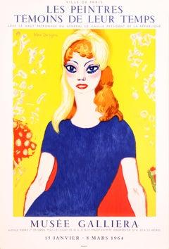 Post-Impressionist Portrait Prints