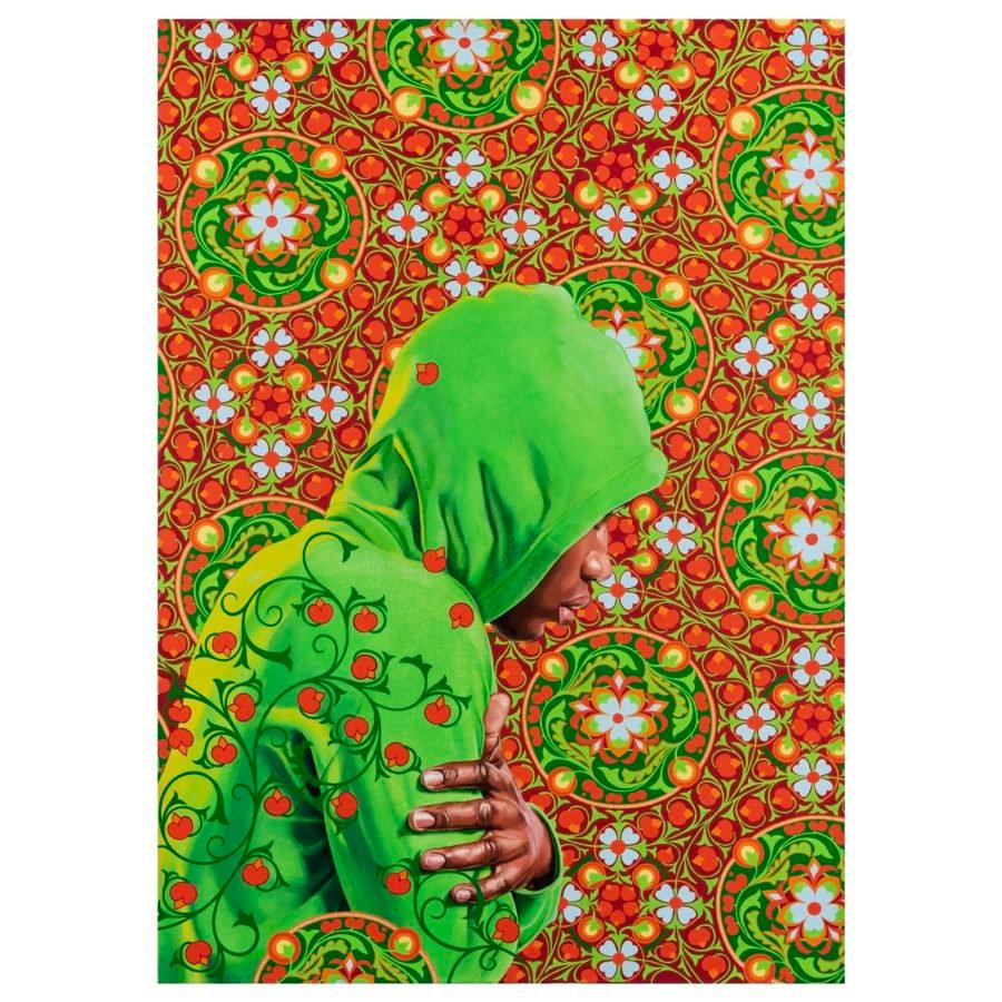 Kehinde Wiley 'Head of a Young Girl Veiled' Print, 2019