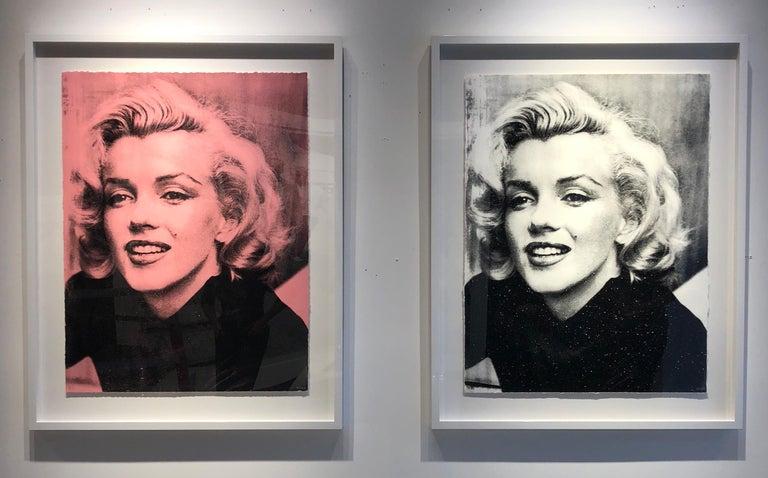 Marilyn Smile (Bleu, Diamond Dust) - Photograph by Keiko Noah