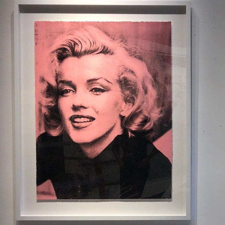 Marilyn Smile (Bleu, Diamond Dust) - Contemporary Photograph by Keiko Noah