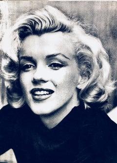 Marilyn Smile Noir et Blanc (Diamond Dust)