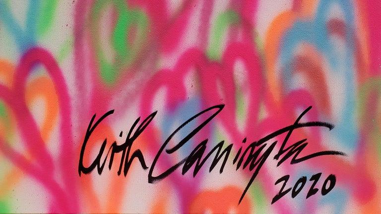Palm Beach #3 - Painting by Keith Carrington