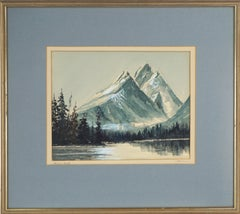 Cathedral Group and Grand Teton Mountains Landscape