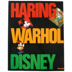 Keith Haring, Andy Warhol, and Walt Disney, First Edition