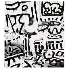 Keith Haring Area Nightclub New York, 1986