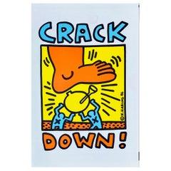 Keith Haring Crack Down! Program, 1986