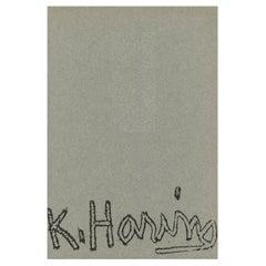Keith Haring, Gallery 56 Geneva 1990 'Vintage Keith Haring Exhibition Catalog'