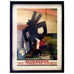 Keith Haring, Ivan Dalla Tana Keith Haring or Tony, Poster