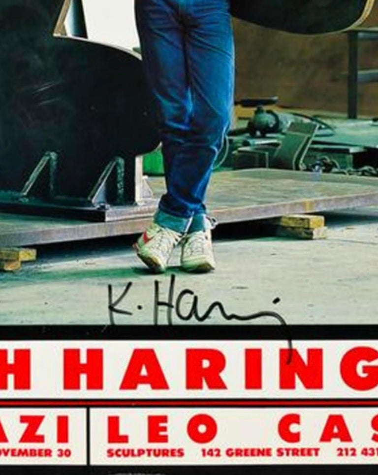 Keith Haring, Ivan Dalla Tana Keith Haring or Tony, Poster In Good Condition In Los Angeles, CA