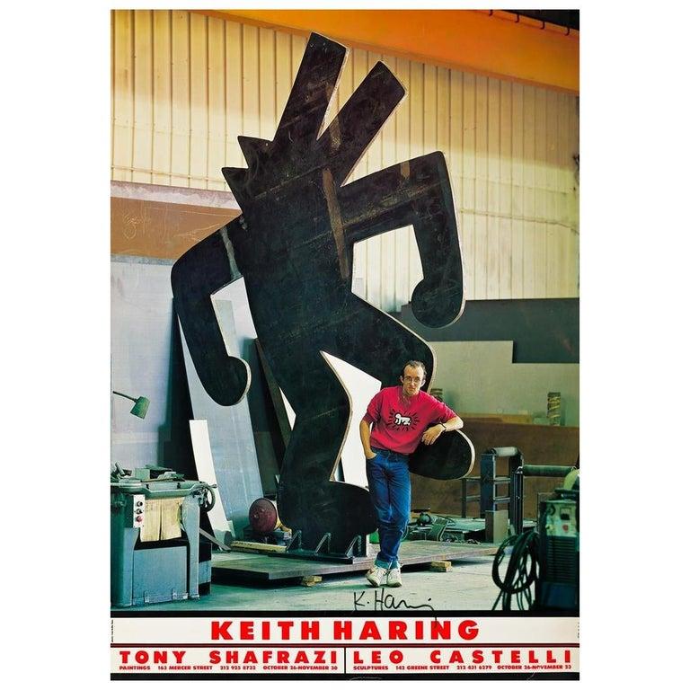 20th Century Keith Haring, Ivan Dalla Tana Keith Haring or Tony, Poster