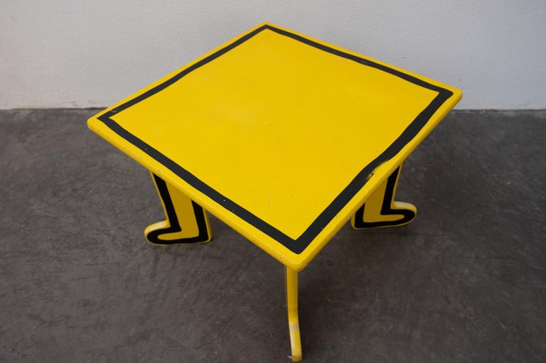 Keith Haring Kids Table by Vilac For Sale 3