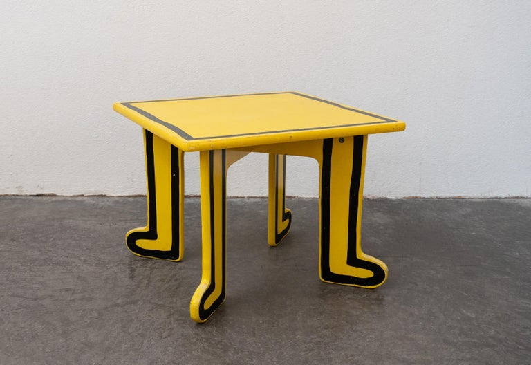 Keith Haring Kids Table by Vilac For Sale 4