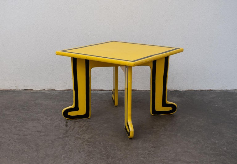 Modern Keith Haring Kids Table by Vilac For Sale