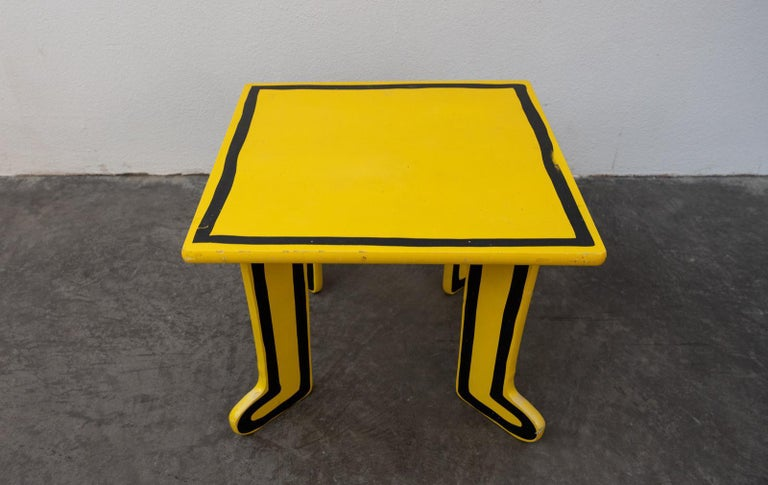 American Keith Haring Kids Table by Vilac For Sale
