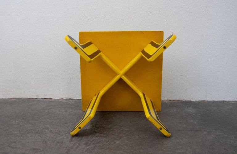 Painted Keith Haring Kids Table by Vilac For Sale