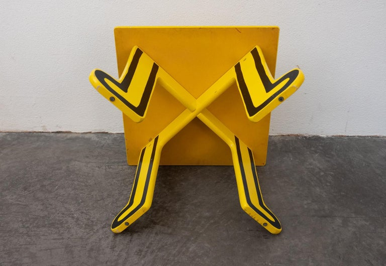 Contemporary Keith Haring Kids Table by Vilac For Sale