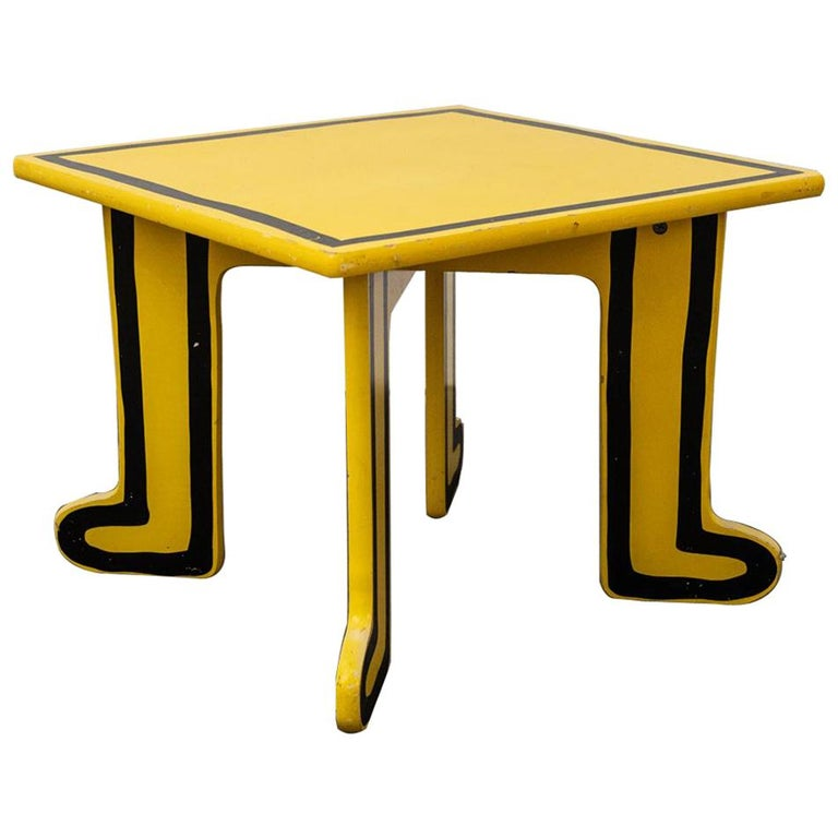 Keith Haring Kids Table by Vilac For Sale