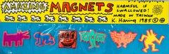Original Keith Haring Pop Shop magnets (unopened set of 6)