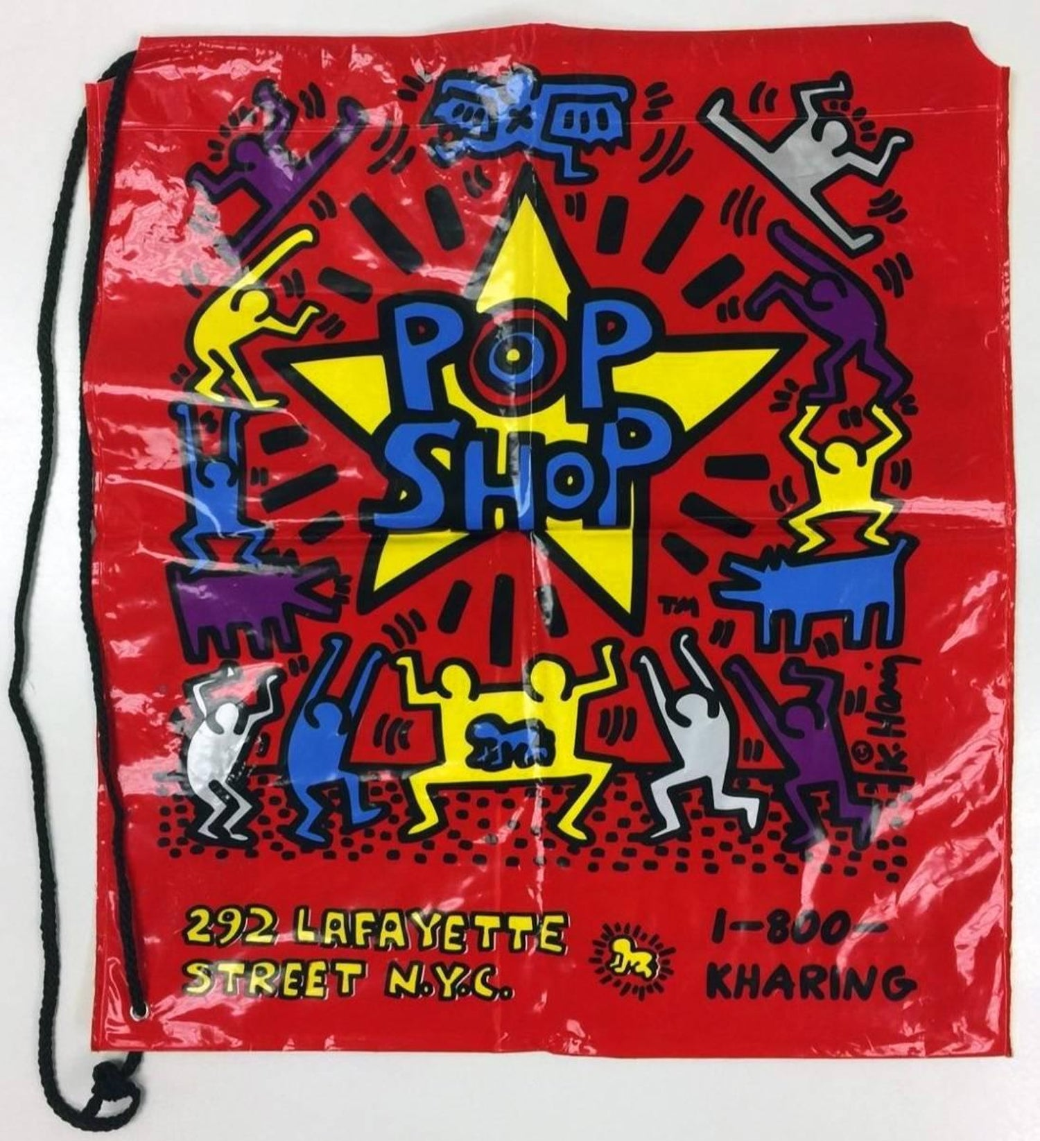 6c6b6f157 Keith Haring Pop Shop Collectible For Sale at 1stdibs