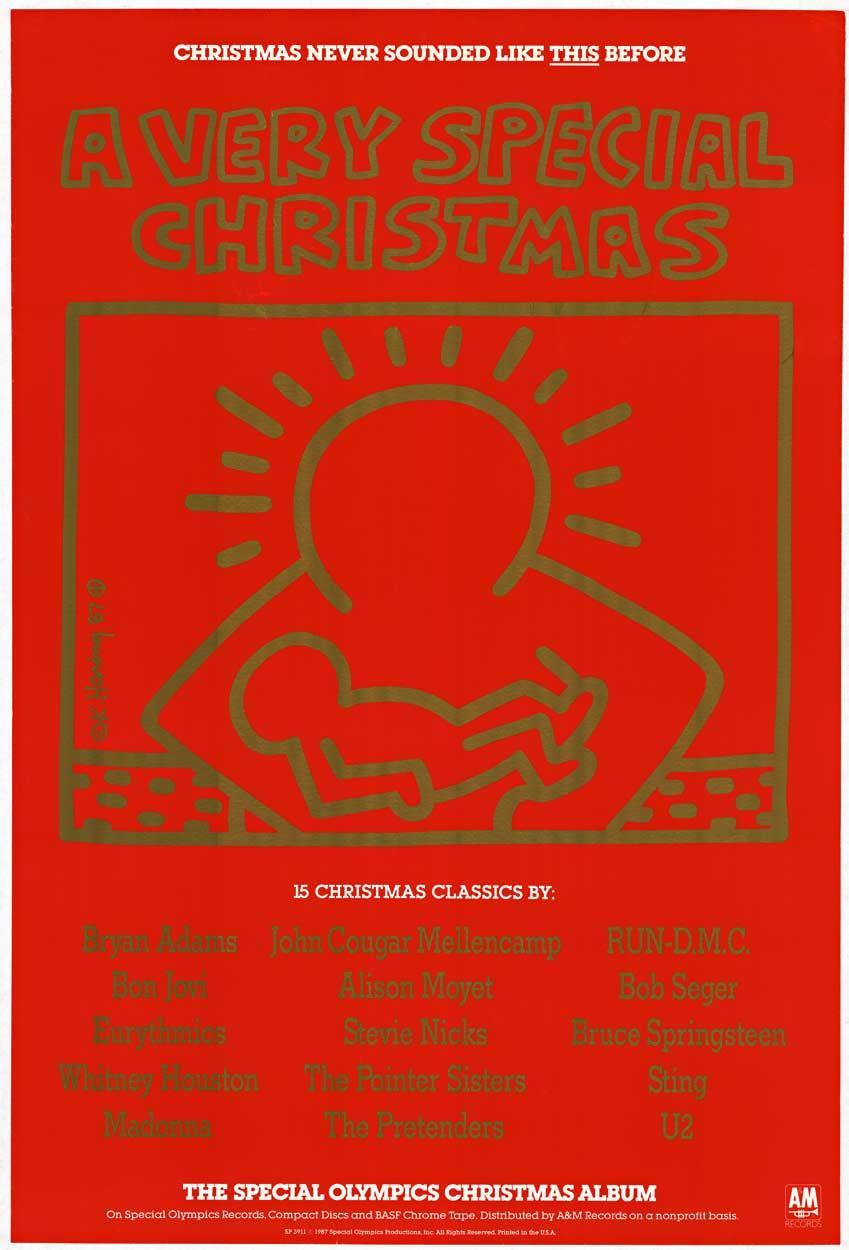 A Very Special Christmas original pop-art poster