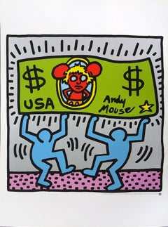 Andy Mouse - 1980s - Keith Haring - Offset - Contemporary