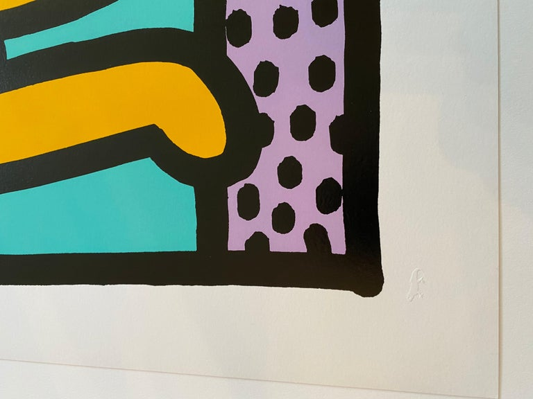 Best Buddies  - Contemporary Print by Keith Haring