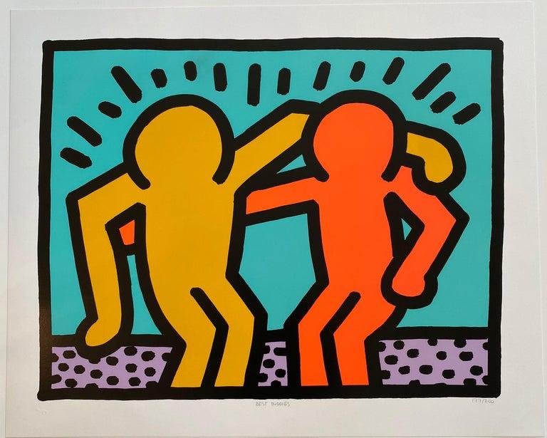 Keith Haring Print - Best Buddies