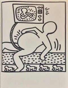 Composition  - Original Lithograph 1983