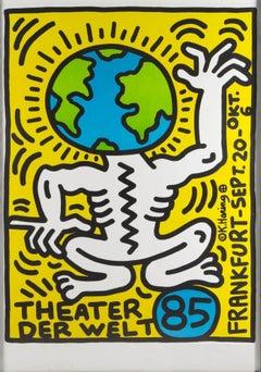 Earth Man (Theater Der Welt, 1985) - screen print
