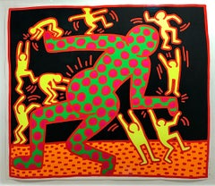 Fertility No.3 Hand Signed by Keith Haring American Art